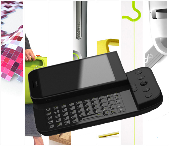 San Francisco Based Design Firm Mike and Maaike Designed the G1 Android Cell Phone