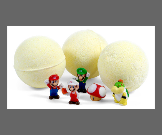 Super Mario Bros. Bath Bombs