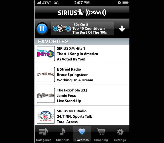 Sirius XM Premium (Free)