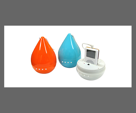 ZumReed Drop iPod Speakers