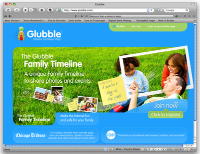 Website of the Day: Glubble