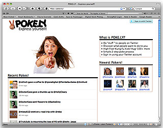 Website Pokely Lets You Poke Twitter Users Like You Do on Facebook