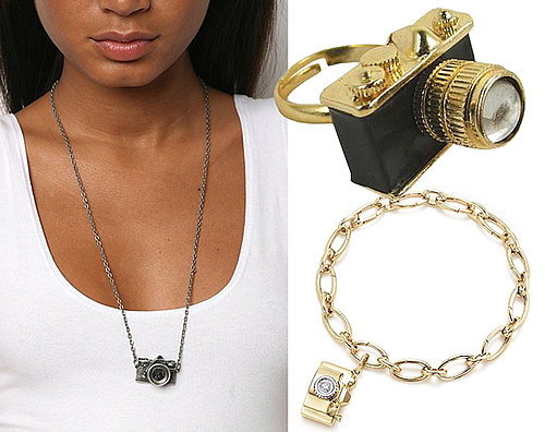 The Photographer's Baubles: Camera-Shaped Jewelry