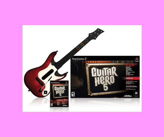 Guitar Hero 5 Guitar Peripheral Revealed