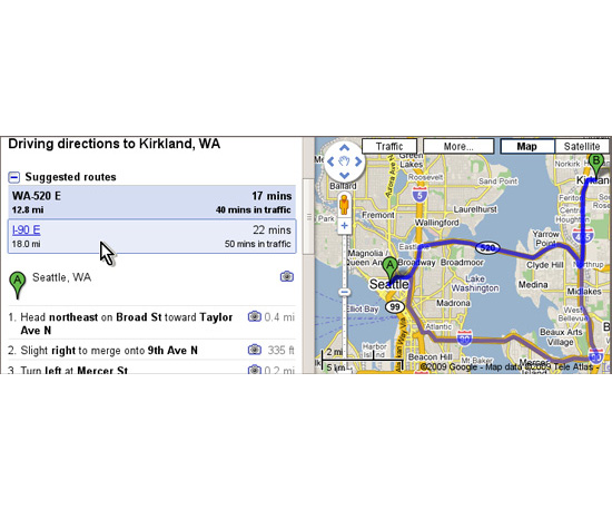 Google Maps Now Offers Suggested Routes