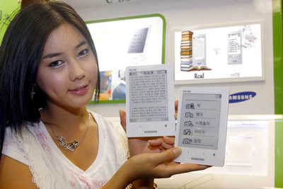Samsung Announces Its New eReader, the SNE-50K