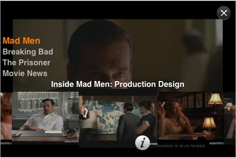 Mad Men iPhone App