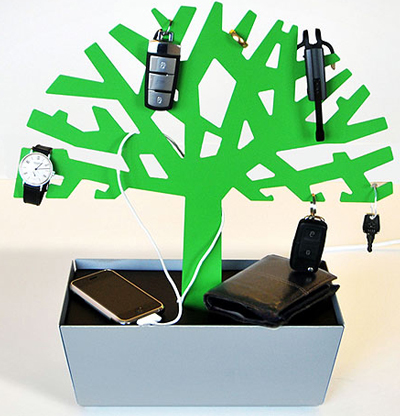 Tree of Charge Gadget Charging Station