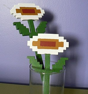 Super Mario Bros Fire Flowers From Etsy
