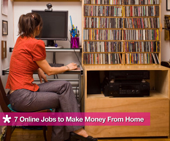 Geek Tip: Make Money at Home With These Online Jobs