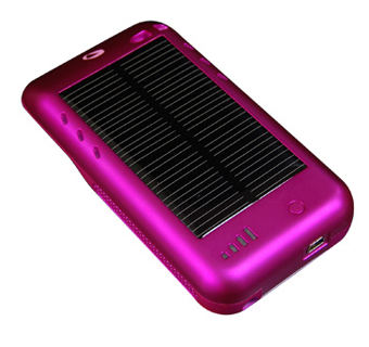 The Surge Will Charge Your iPod Touch With the Sun