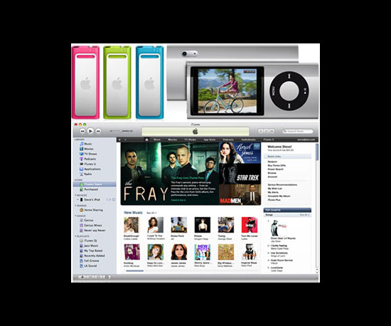 Apple Announces New iPods, iTunes, and Steve Made His Return