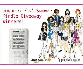 The 10 Kindle Giveaway Winners!