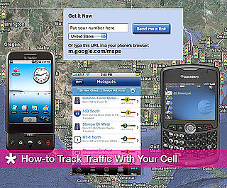 How-to Track Traffic on the Go With Your Cell