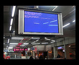 A Train Station Gets the BSOD Treatment