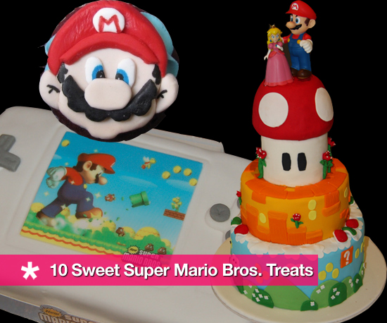10 Sweet Super Mario Bros. Treats