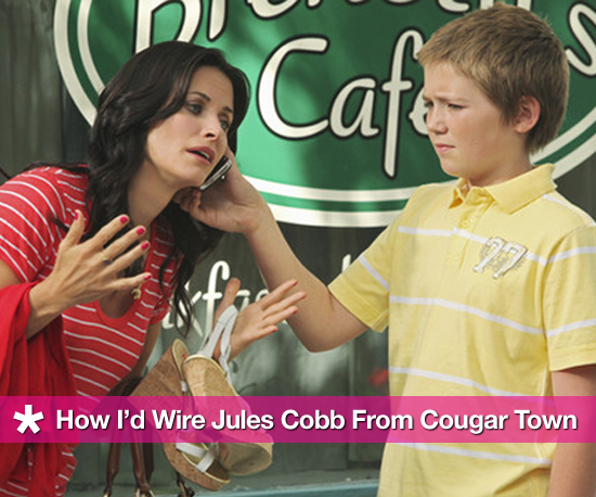 How I'd Wire Jules Cobb From Cougar Town