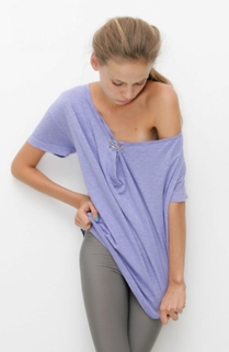 Fab Finger Discount: Sauce Drape Safety Pin Tee