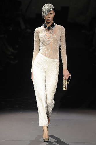Photos of Giorgio Armani's 2009 Fall Couture Show