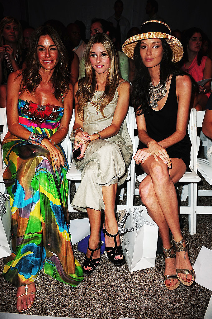 Kelly Killoren Bensimon, Olivia Palermo, Nicole Trunfio at Tibi