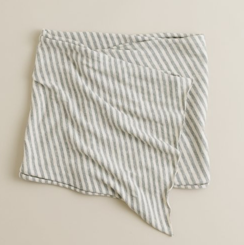 This Jersey Stripe Scarf, ($30) is the perfect layering piece.