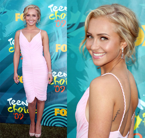 Photos of Hayden Panettiere at the 2009 Teen Choice Awards
