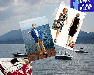 Oscar de la Renta Worries, but Wants to Help Keep Tahoe Blue