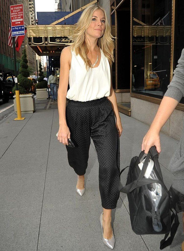 Photos of All of Sienna Miller's Outfits During GI Joe Promotion Tour