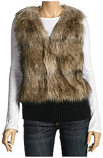 The Look For Less: Juicy Couture Faux Fur Vest