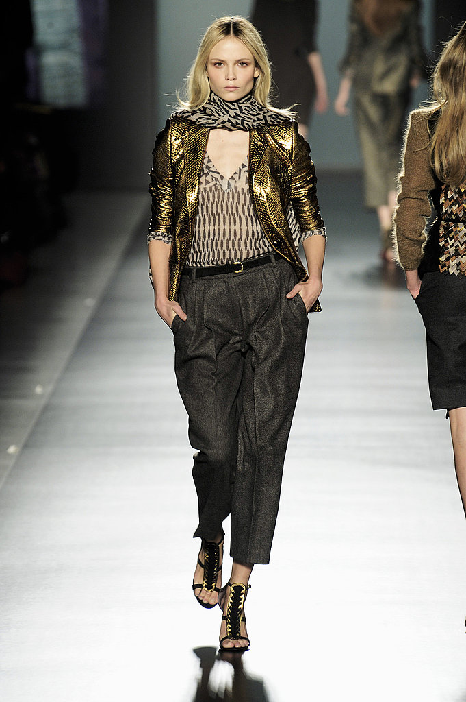 Etro's Metallic Global Chic