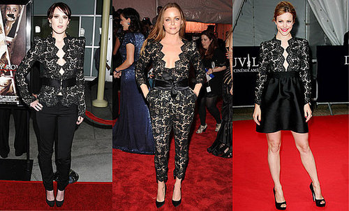 Who Wore It Better? Stella McCartney Noir Lace