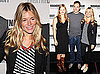 Sienna Miller Wears Striped Tank and Ivory Oxfords to Broadway