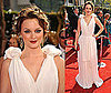 Photo of Leighton Meester on the Emmy Awards Red Carpet