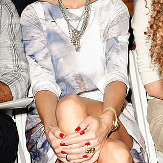 Front Row at 2010 Spring New York Fashion Week