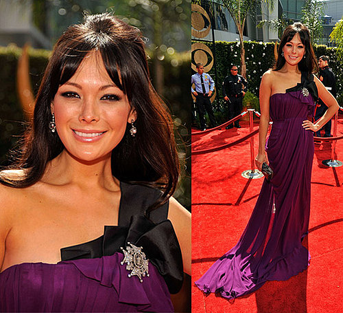 Photo of Lindsay Price on the Emmy Awards Red Carpet 2009-09-20 20:00:15