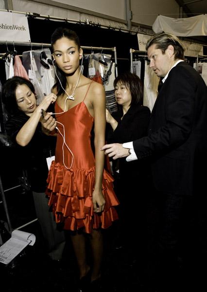 Behind the Seams: Backstage at NYFW, Spring '10
