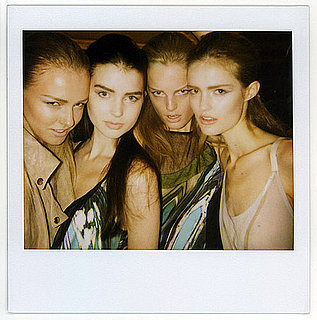 Backstage at New York Fashion Week, Spring 2010