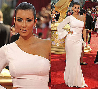 Photo of Kim Kardashian at 2009 Primetime Emmy Awards 2009-09-20 16:23:13