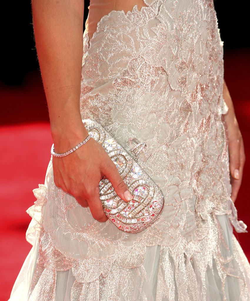 Olivia Wilde's fantastical clutch.