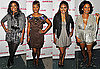 Photo of Gabrielle Union, Eve, Tracie Thoms, and Nia Long at Good Hair Premiere in LA