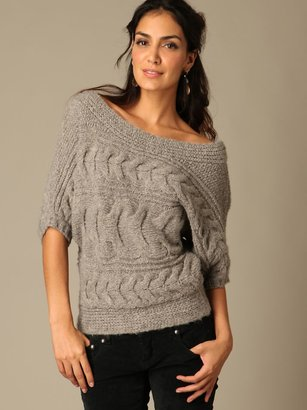 The Look For Less: Free People Cable Pullover Sweater