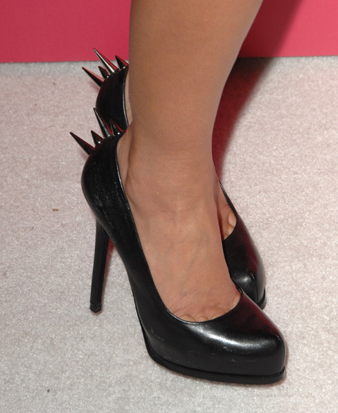 Lauren's Badass Spiky Pumps