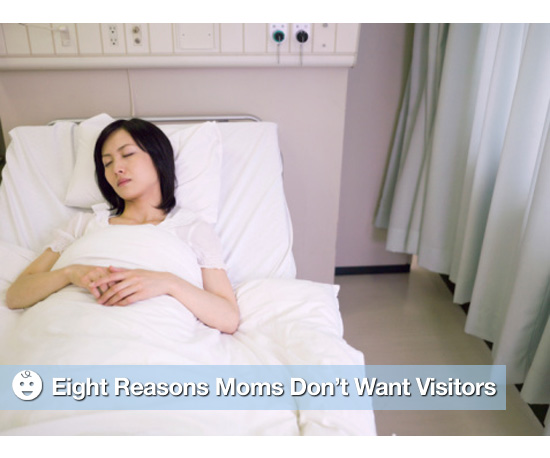 Why Some Moms Don't Want Hospital Visitors After Labor