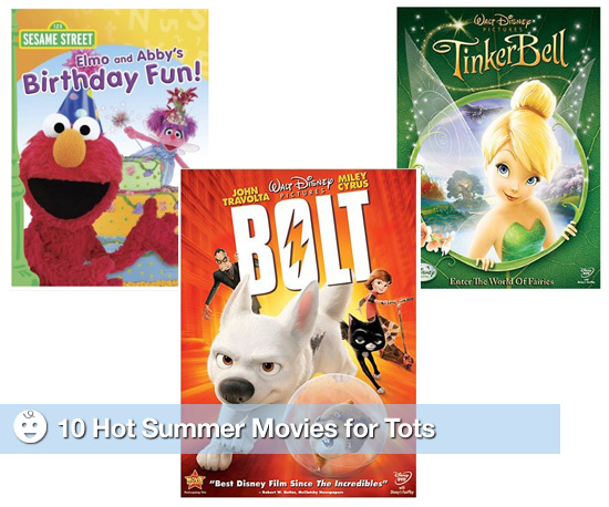 10 Hot Summer Movies For Tots