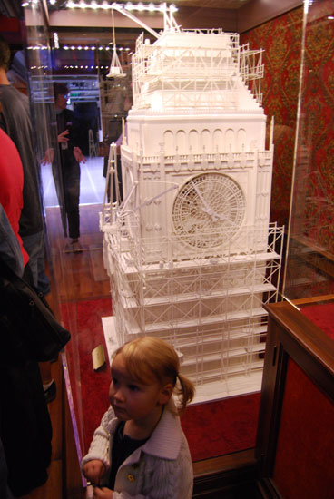 Intricate Clock Tower