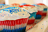 Fourth of July Cupcakes 2009-07-03 16:43:32