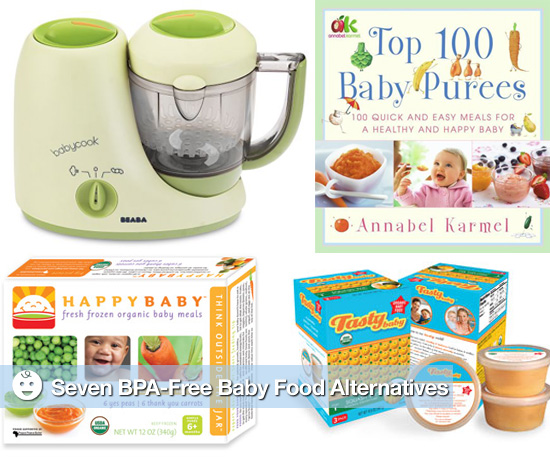 Seven BPA-Free Baby Food Alternatives