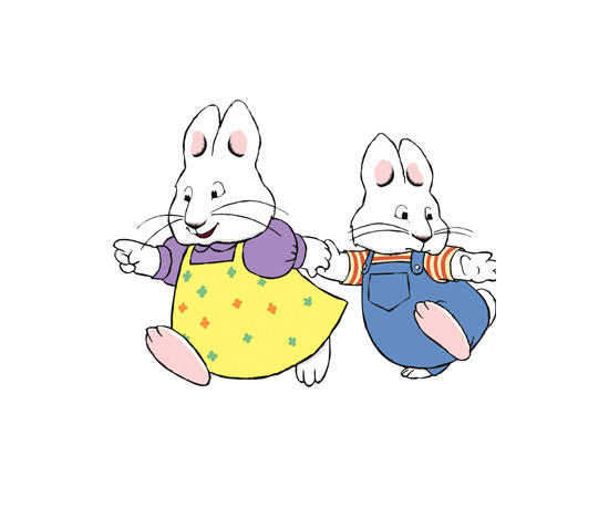 Where are Max and Ruby's parents?