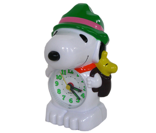 Snoopy Musical Alarm Clock