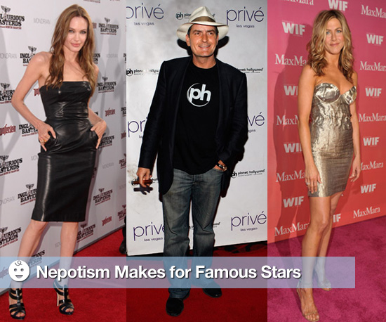 Nepotism Makes For Famous Stars
